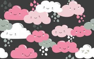 qualitativ hochwertige stoffe in deutschland online bestellen clouds wolken jersey anthrazit. Black Bedroom Furniture Sets. Home Design Ideas