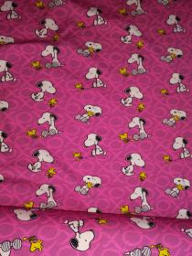 Snoopy XO pink